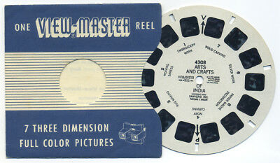 Arts and Crafts of India 1952 Scarce ViewMaster Single Reel 4308