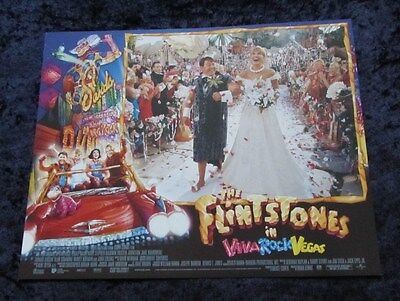 THE FLINTSTONES lobby cards MARK ADDY, JOAN COLLINS  set of 8 cards