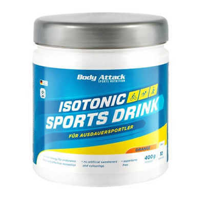 Body Attack Isotonic Sports 27,25€/kg Drink 400g isotonisches Getränk Vitamine