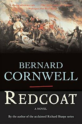 Redcoat by Cornwell, Bernard Book The Fast Free Shipping