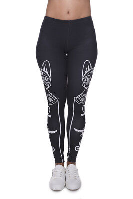 hanessa frauen leggins bedruckte leggings hose fr hling sommer kleidung azteken chf. Black Bedroom Furniture Sets. Home Design Ideas