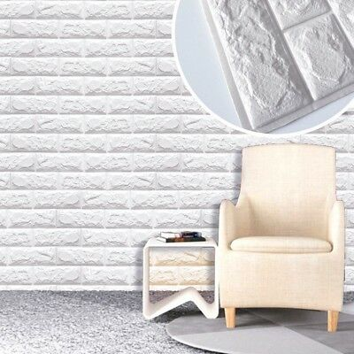 3D Brick PE Foam Waterproof Wall Stickers Poster DIY Wall Papers Home Decor