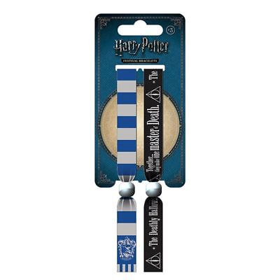 Official Harry Potter Ravenclaw Festival Wristband Set - Fabric Bracelets