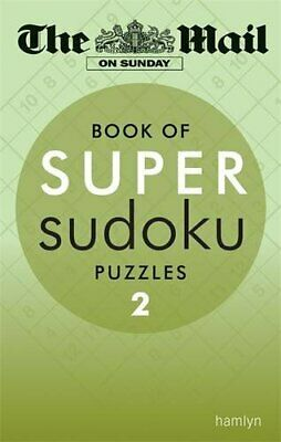 The Mail on Sunday: Super Sudoku 2 by The Mail on Sunday Paperback Book The