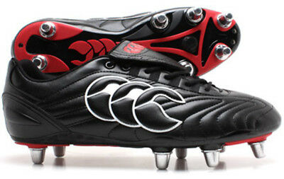 CANTERBURY Mens Stampede Club 8S Rugby Boots - Size UK 8 & 12 REDUCED (033084)