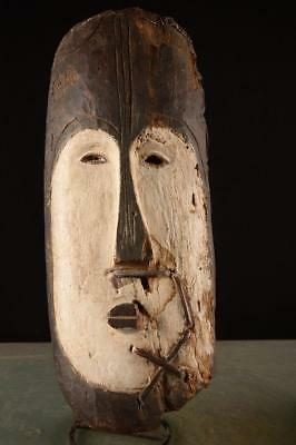 2899 Large Fang Helmet Mask from Gabon Africa/Africa