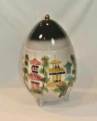SASCHA BRASTOFF California Pottery Pagoda Large Covered Jar