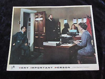 VERY IMPORTANT PERSON lobby card #5 JAMES ROBERTSON JUSTICE
