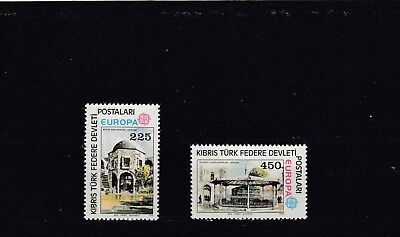 Turkish Cypriot Posts - Sg63-64 Mnh 1978 Europa - Buildings