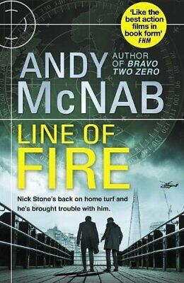 Line of Fire: (Nick Stone Thriller 19) by McNab, Andy Book The Cheap Fast Free