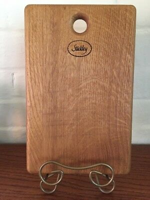 Stickley Furniture Advertising Wooden Cheese Cutting Board