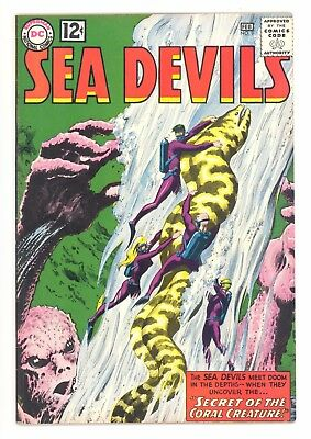 SEA DEVILS #9  DC 1963 - Russ Heath & Jack Adler Art - FN/VF