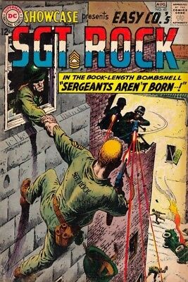Showcase #45  Sgt Rock Easy Co  strict VG/FN- 5.0   Many more up for grabs now