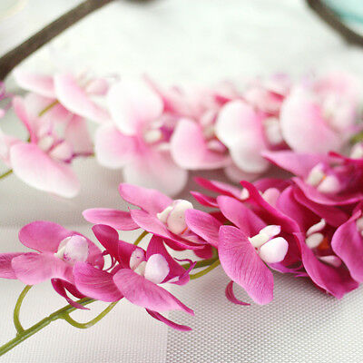 """28"""" Artificial Butterfly Orchid Silk Fake Flowers Home Wedding Party Dinner"""