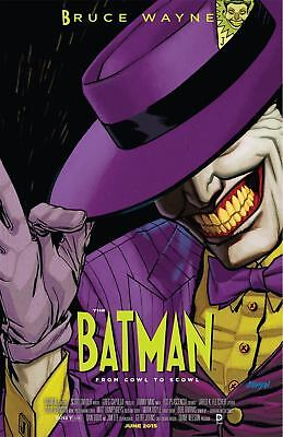 Batman Vol 2 #40 Cover B Variant The Mask WB Movie Poster Cover 1st PRINT