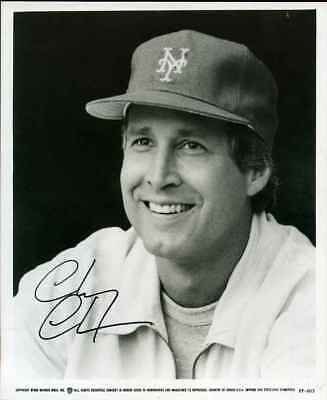 CHEVY CHASE AUTOGRAPH HAND SIGNED 8x10 PHOTO *ON SALE* COA E-30