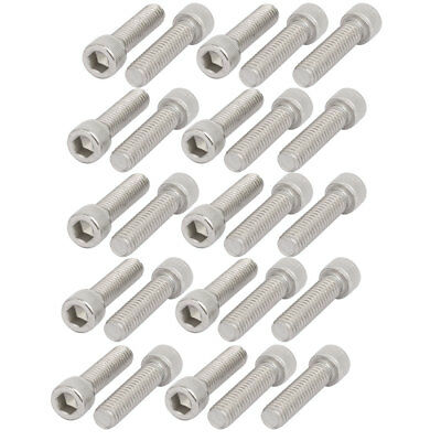 5/16-18 x 1-1/4 Alloy Steel Flat Head Hex Socket Cap Screw 25pcs Fasteners