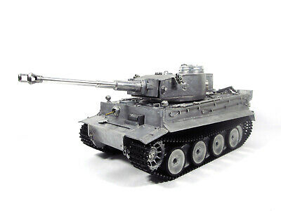 Mato 1/16 100% Metal German Tiger 1 Tank(Original Metal Color,RTR)