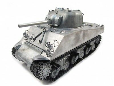 Mato 1/16 100% Metal M4A3(75)W Sherman Tank(IR Recoil,Original Metal Color,RTR)
