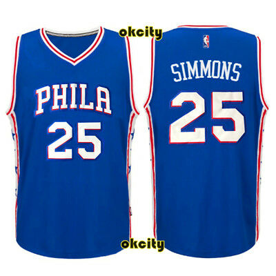 Ben Simmons PHILA Philadelphia Sixers 76ers Kid Youth Child Adult NBA Jersey Top