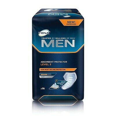 Tena Men Level 3 Absorbent Protector - Pack of 16