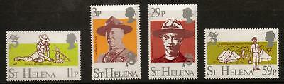 St.helena Sg403/6 1982 Scouts Mnh