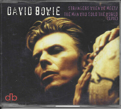 David Bowie ‎– Strangers When We Meet / The Man Who Sold The World 4-tr maxi cd
