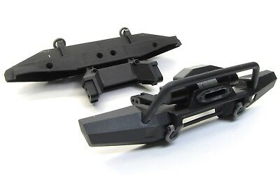 TRX-4 Tactical Unit - BUMPERS (Front winch rear D-rings trail Traxxas 82066-4