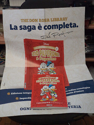 The Don Rosa Library 1 L'integrale Con Poster - Nuovo