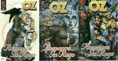 Oz Romance In Rags (1996 Cl) 1-3  Complete!