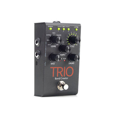 DigiTech Trio Band Creator Guitar Effects Pedal OPN