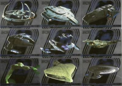 COMPLETE DEEP SPACE NINE Ships of Dominion WAR SET S1 - S9   DS9 CARD SET