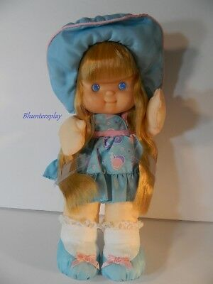 Fisher Price Puffalump Pretty Hair Doll Kid Blonde  Blue Dress NWOB