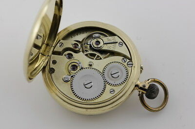 "IWC S&Co. (STAUFFER & COMPANY) ""PEERLESS"" 18ct GOLD LADIES POCKET WATCH c1897."
