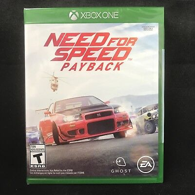 Need for Speed Payback Standard Edition (Xbox One, 2017) BRAND NEW