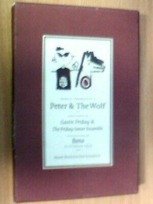 Peter and the Wolf with enhanced CD by Prokof'ev, S.S. Hardback Book The Cheap