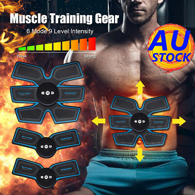 AU Abdonminal Arm Toning Belt Smarty ABS Muscle Stimulator Ultimate Body