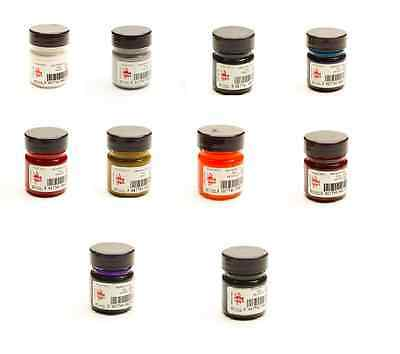 10 Colours Artist Drawing Inks Scola 28ml Bottles Dip Pen Calligraphy or Brush