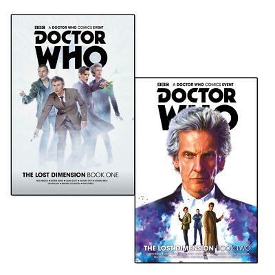 Doctor Who The Lost Dimension Vol 1-2 Collection 2 Books Set Doctor Who comics