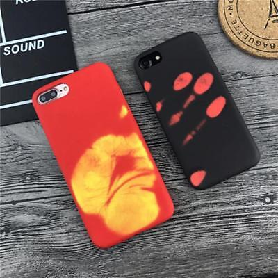 DIY Discoloration Thermal Heat Induction Funny Cover Case iPhone 6 6S 7 Plus CB