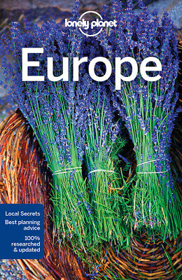 Lonely Planet Europe Travel Guide BRAND NEW 9781786571465
