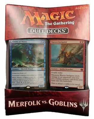 Merfolk vs. Goblins Magic the Gathering Duel Decks englisch MtG