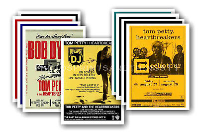 TOM PETTY - 10 promotional posters - collectable postcard set # 3