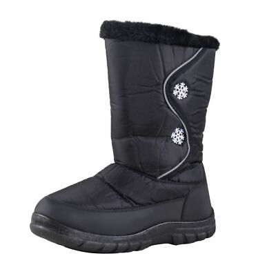 Lisanne Comfort + Ladies thermal boots with Snowflakes Pattern