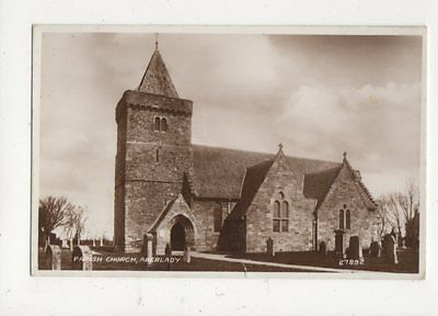 Parish Church Aberlady Vintage RP Postcard 498a