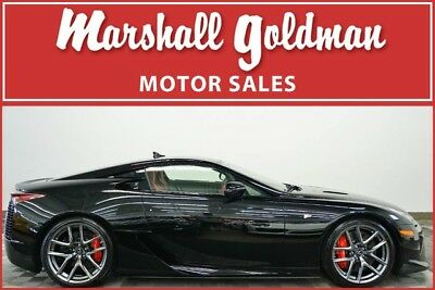 2012 Lexus LFA  2012 Lexus LFA #221 Obsidian Red leather 356 Miles NAV Levinson Luggage