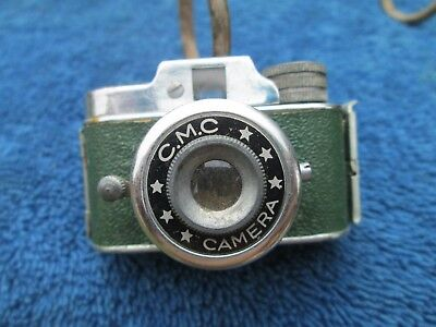 Vintage  Green Cmc Spy Camera Subminature Untested