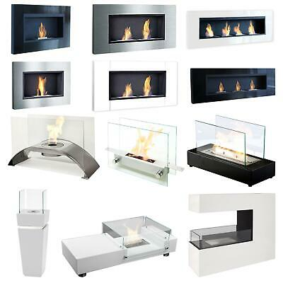 Chimney Wall Fireplace Table Ethanol Gel combustion chamber