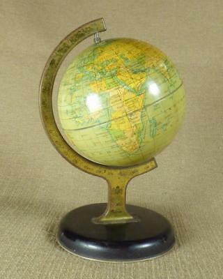 1930's/1940's - CHAD VALLEY, TINPLATE TOY WORLD GLOBE - No.10152