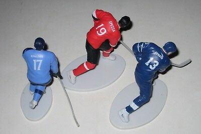 3 NHL ICE HOCKEY FIGURES Sundin SPEZZA Kovalchuk